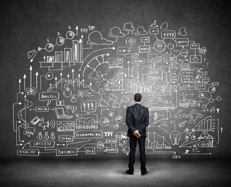Download Планированиe бизнеса стоковое фото. изображение насчитывающей человек - 41650752