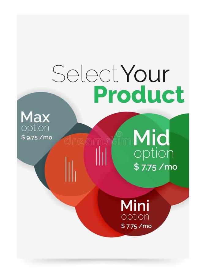 Download План дела - выберите ваш продукт с вариантами образца Иллюстрация вектора - иллюстрации насчитывающей представление, процессы: 81805219
