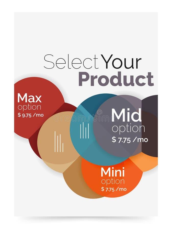 Download План дела - выберите ваш продукт с вариантами образца Иллюстрация вектора - иллюстрации насчитывающей уговариваний, шестиугольник: 81805246