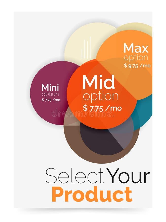 Download План дела - выберите ваш продукт с вариантами образца Иллюстрация вектора - иллюстрации насчитывающей навигация, сравните: 81805249