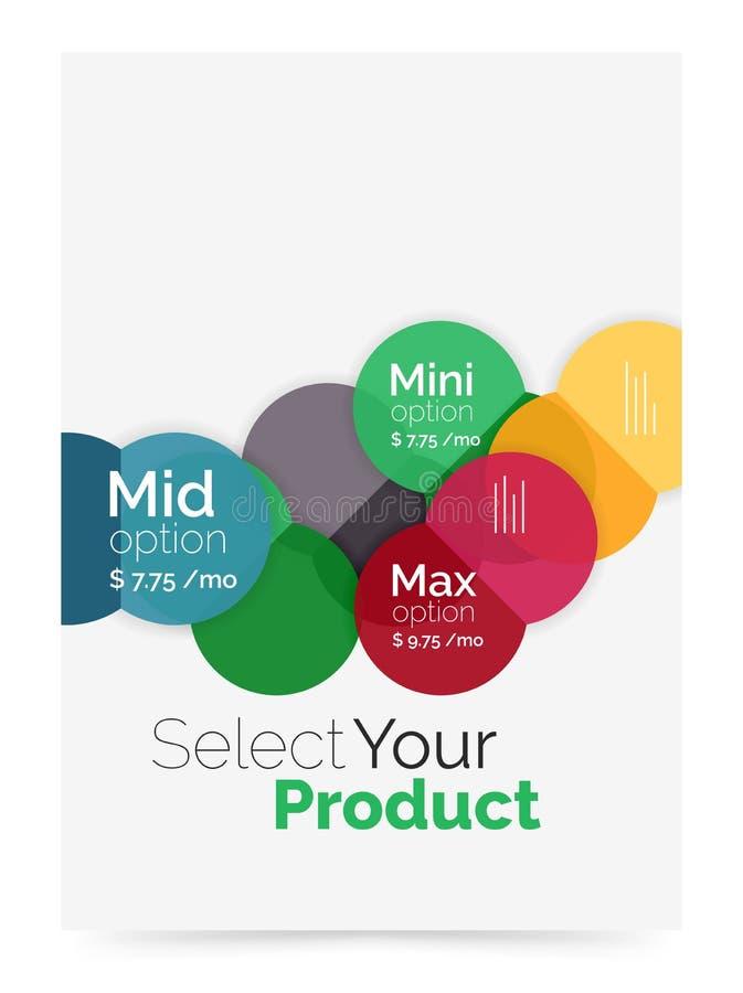 Download План дела - выберите ваш продукт с вариантами образца Иллюстрация вектора - иллюстрации насчитывающей строя, соединение: 81805252