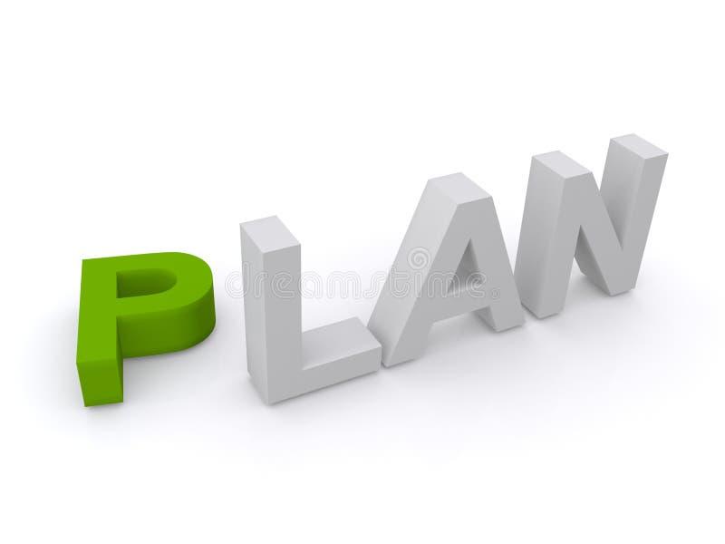 План стоковая фотография