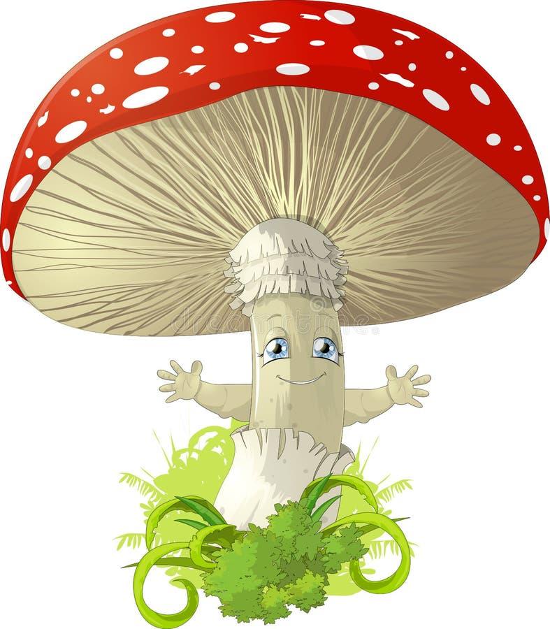Пластинчатый гриб бесплатная иллюстрация