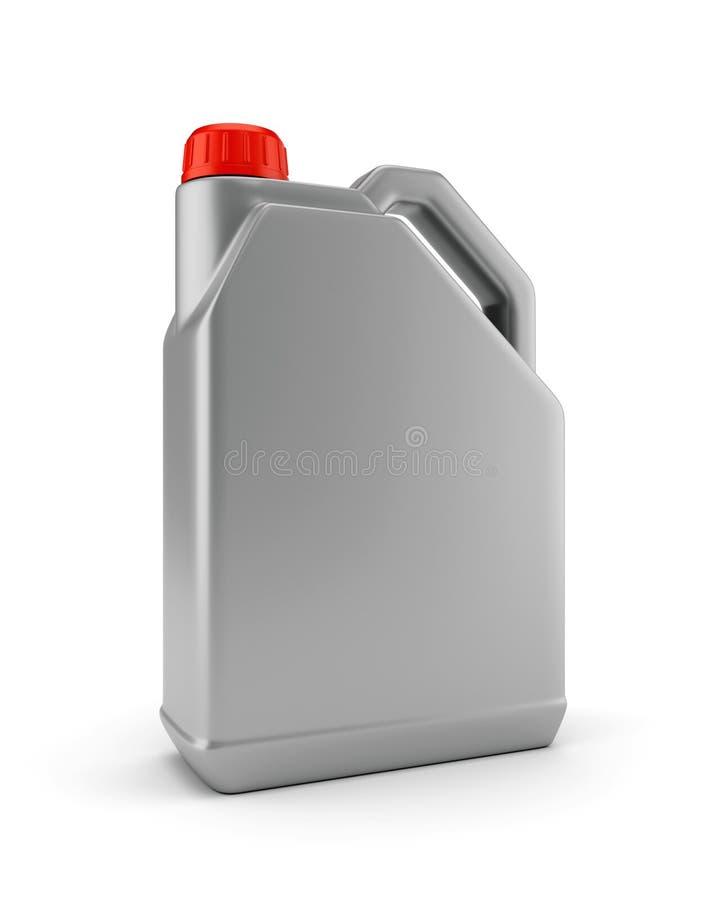 Пластичная банка для автотракторного масла бесплатная иллюстрация