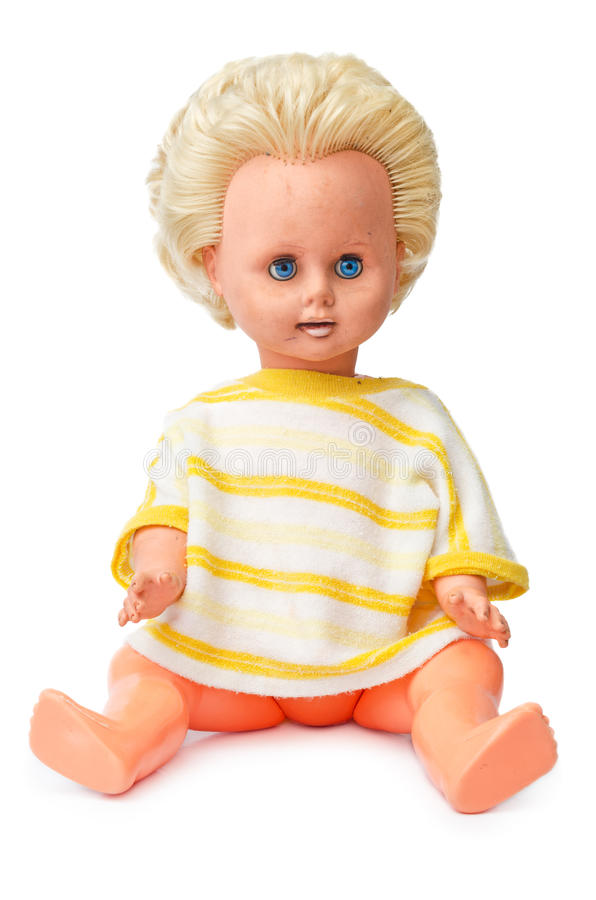 Пластичная кукла стоковое фото rf