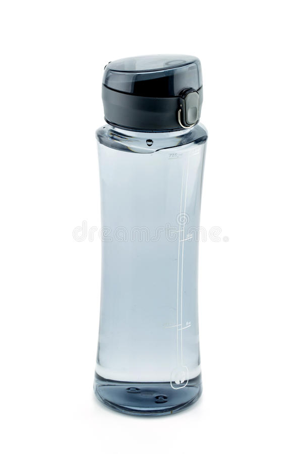 пластичная склянка воды стоковая фотография