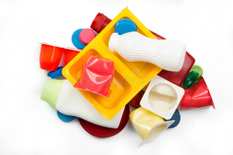 Пластичный отброс стоковые фото