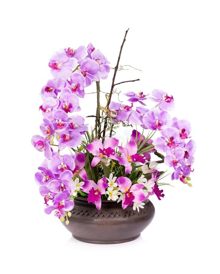 Пластичный цветок для украшения стоковое фото rf