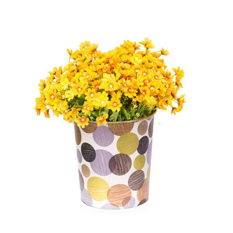 Пластичный цветок для украшения стоковые фото
