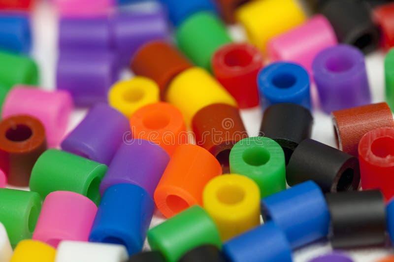 Пластмасса отбортовывает цвета стоковые фото