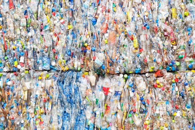 пластмасса рециркулирует стоковая фотография