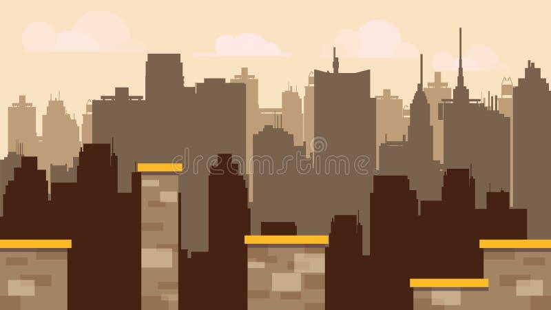 Платформа плитки установленная для игры, дизайна игр картины вектора, стиля иллюстратора плоского с предпосылкой иллюстрация вектора