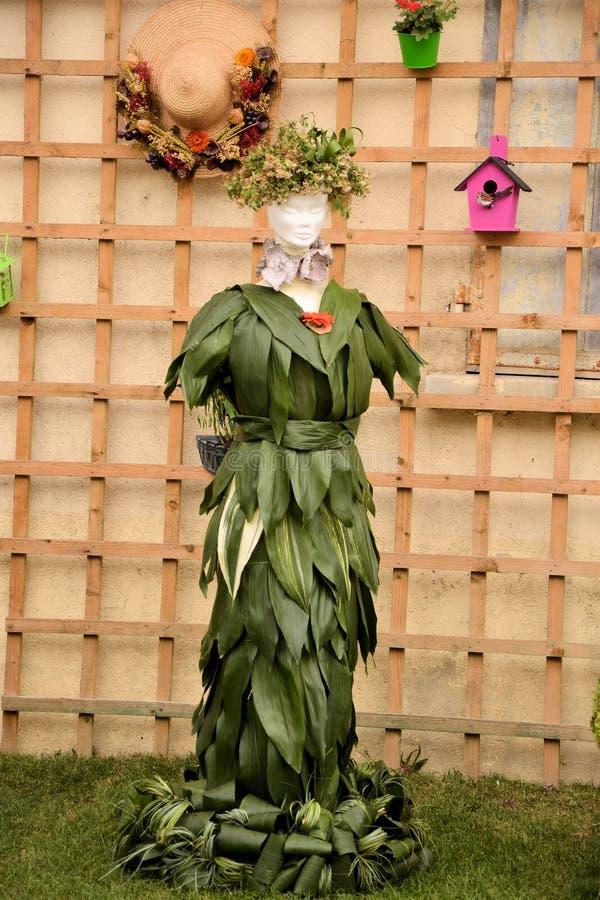 Download платье листьев стоковое фото. изображение насчитывающей лето - 40579566