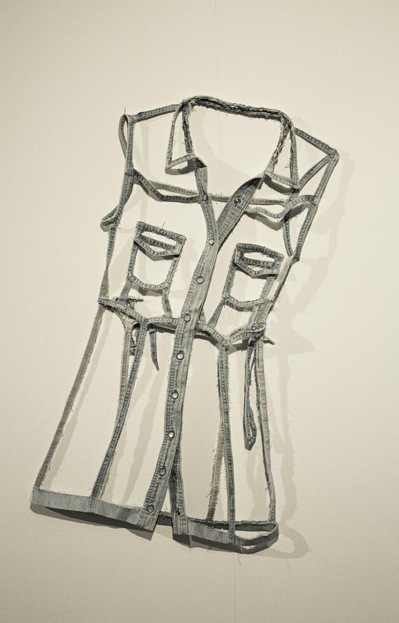 Платье моды ковбоя стоковое фото rf