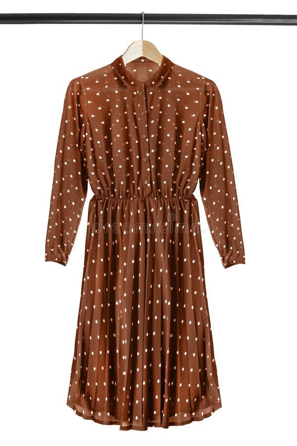 Платье на шкафе одежд иллюстрация штока