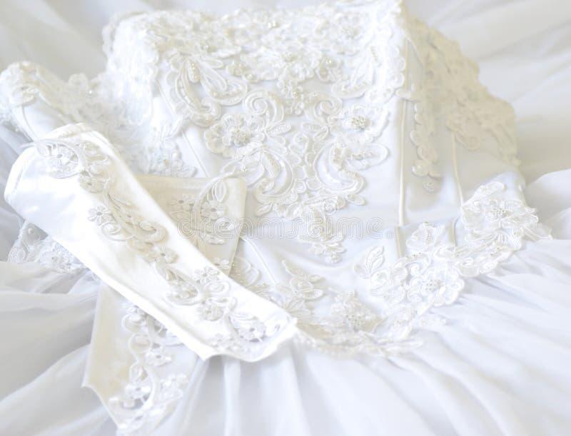 Платье свадьбы стоковые фото
