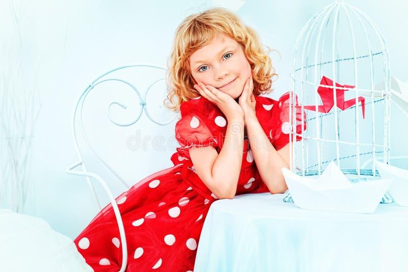 Платье точки стоковое фото rf