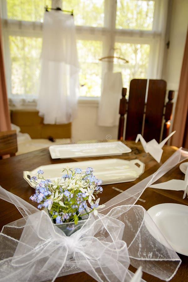 Платье для невесты стоковая фотография
