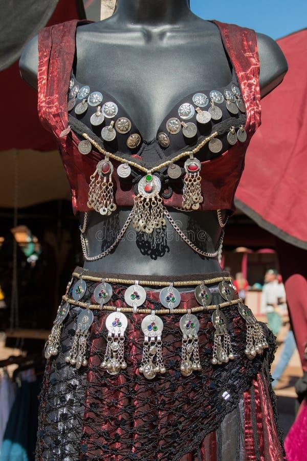 Платья моды фестиваля ренессанса Аризоны стоковое фото