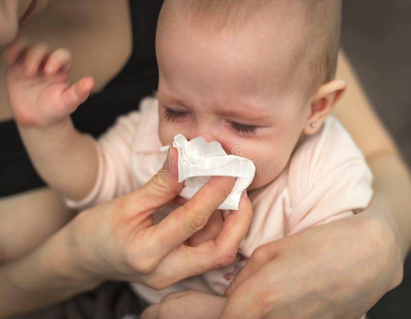 Плача ребенок, стоковые изображения rf