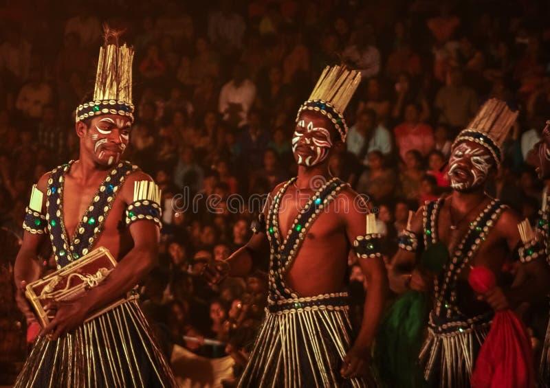Племена Siddi стоковое изображение