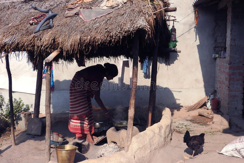 Племенная кухня стоковое фото rf