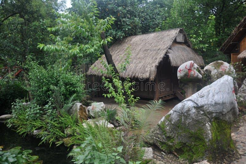 Племенной двор стоковые изображения