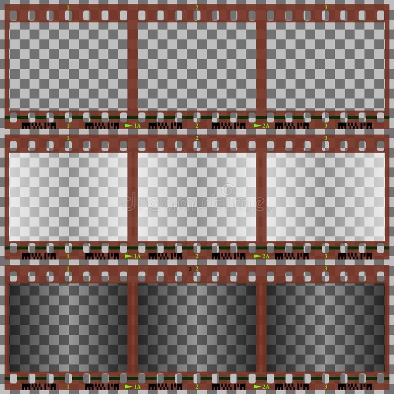 пленка фотографическая иллюстрация вектора