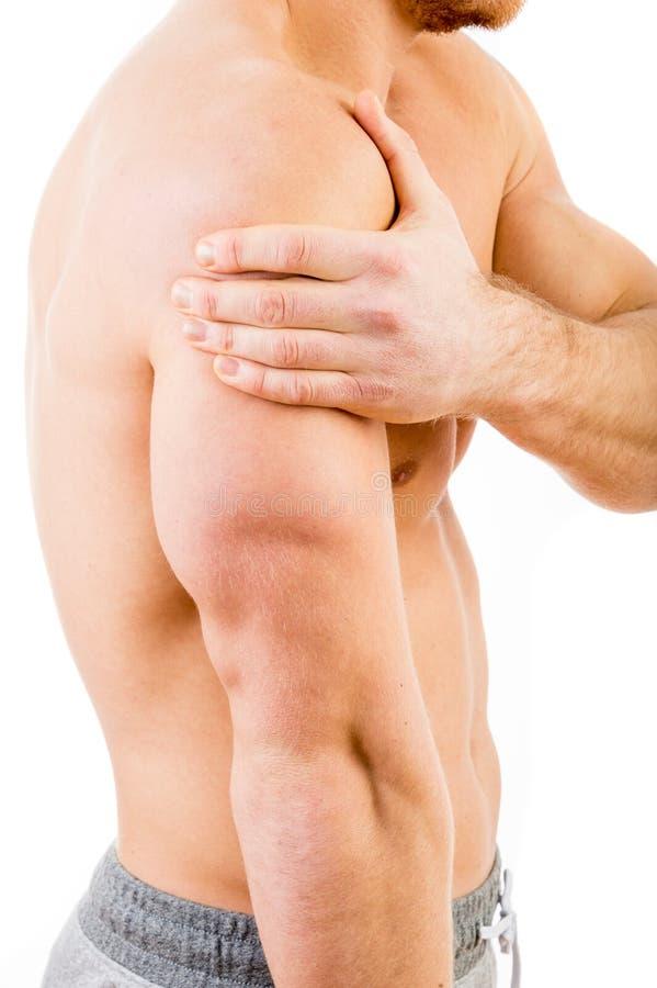 плечо боли человека стоковые фотографии rf
