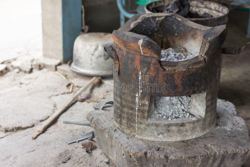 Плита в кухне стоковое изображение