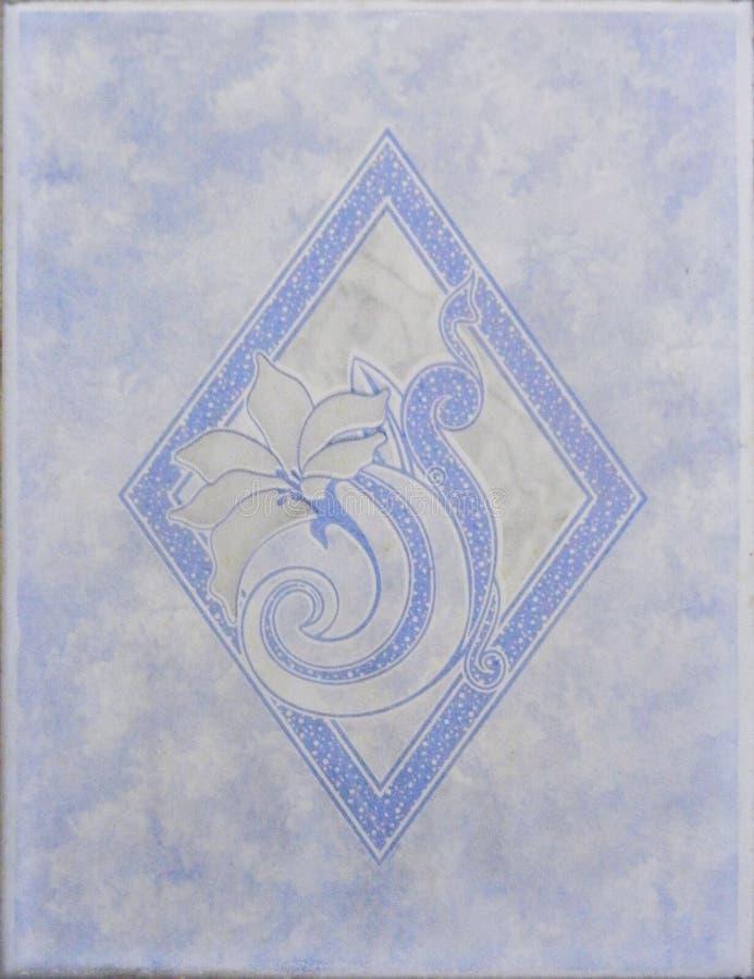 Плитка голубого Highlighter керамическая стоковые изображения rf