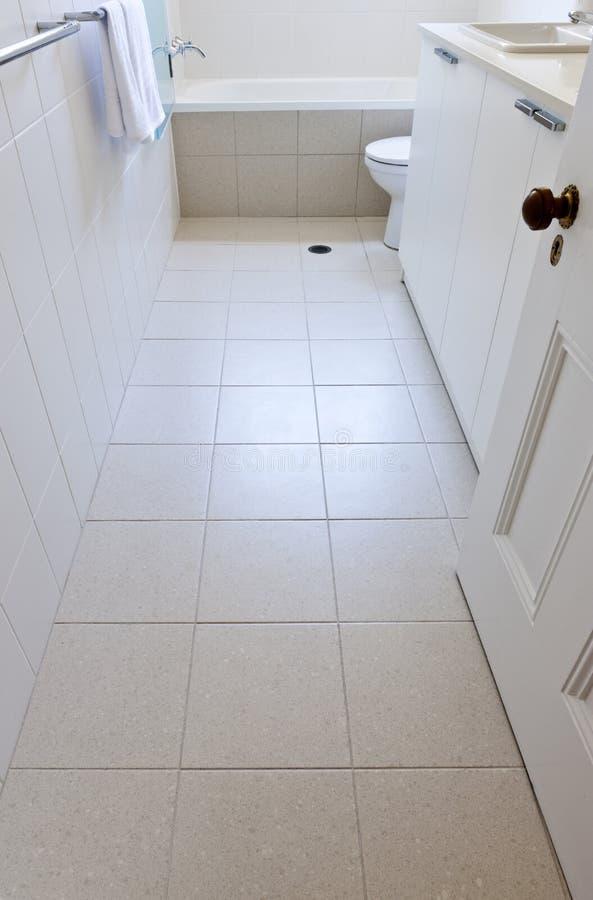 Плитки ванной комнаты детали стоковое фото