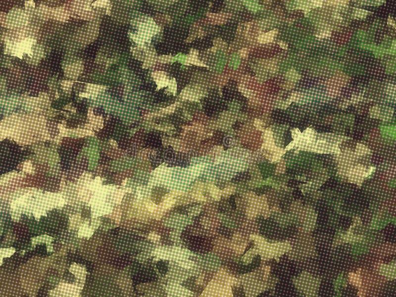 плитки камуфлирования предпосылки безшовные квадратные стоковые фотографии rf