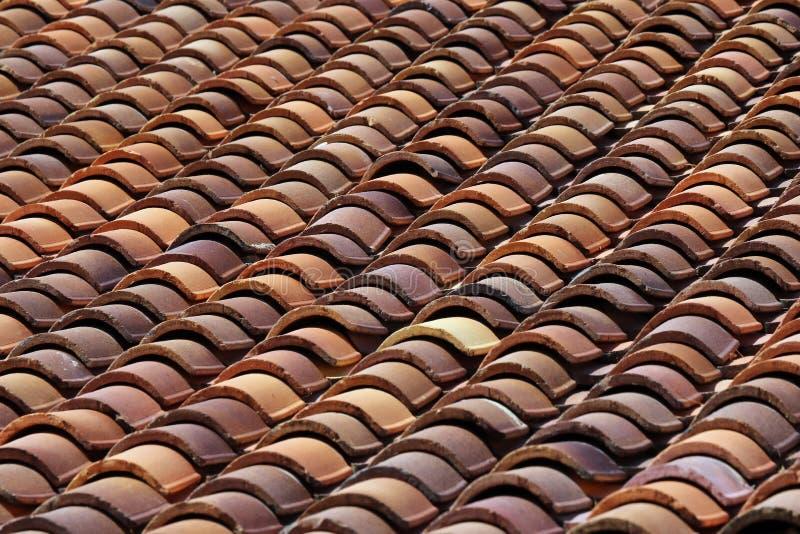 плитки seville Испании крыши строба крепости carmona стоковая фотография
