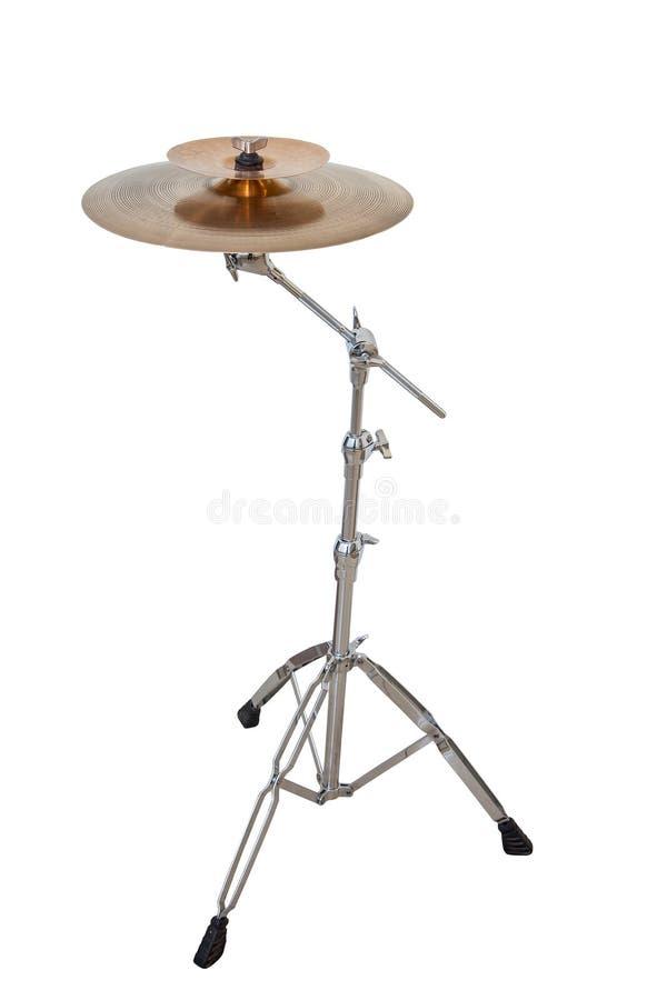 Плиты музыкального инструмента изолированные на белой предпосылке стоковые изображения rf