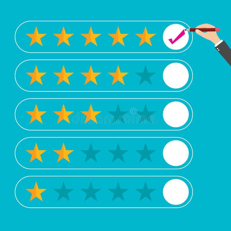 Плоский обзор клиента дизайна, вектор бесплатная иллюстрация