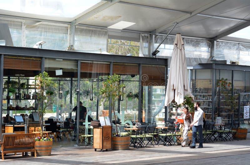 Площадь вокзала Иерусалима старая - Израиль стоковая фотография