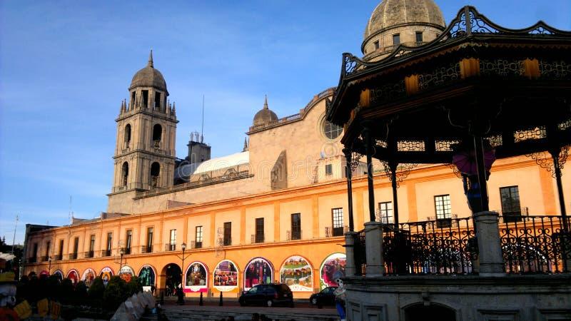 Площадь Лос Portales Toluca стоковое изображение rf