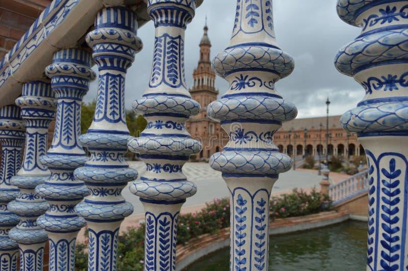 Площадь de Espana стоковое изображение