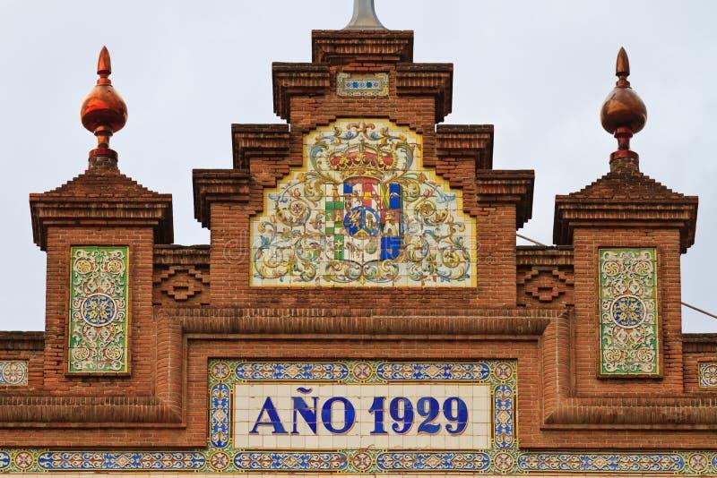 Площадь de Toros de Las Ventas, Мадрид стоковое фото