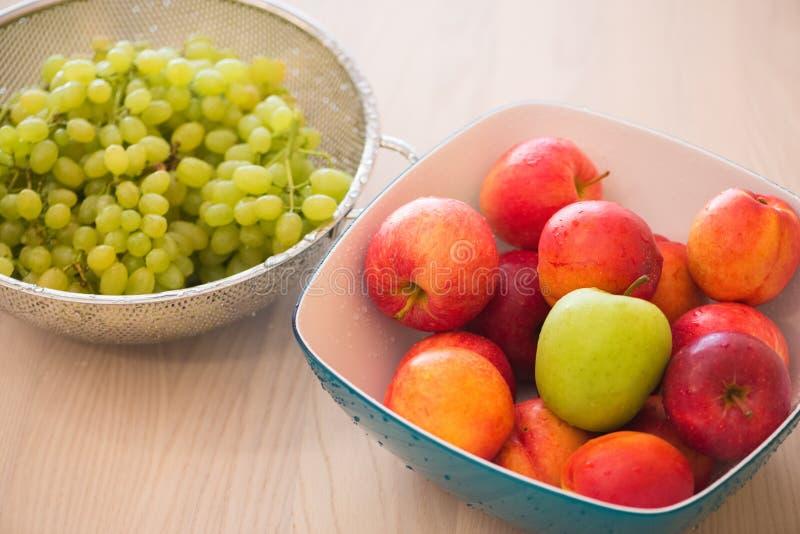 Плодоовощи в bown стоковое фото rf