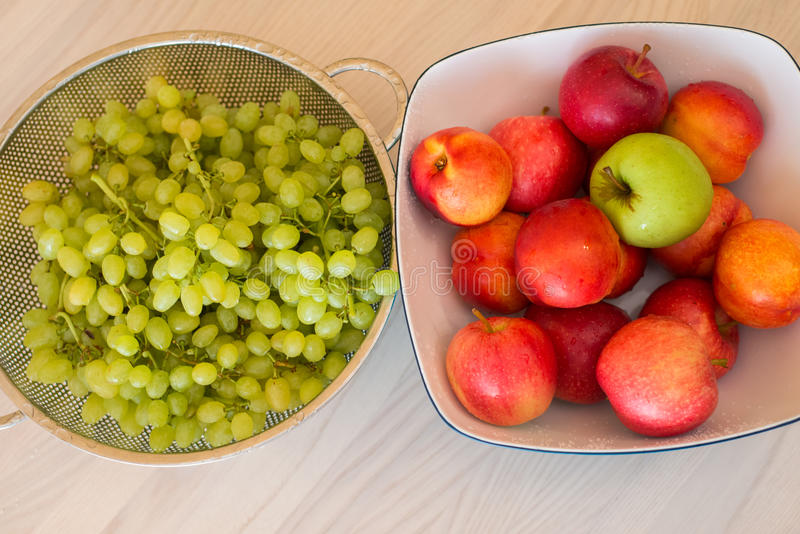 Плодоовощи в bown стоковые изображения