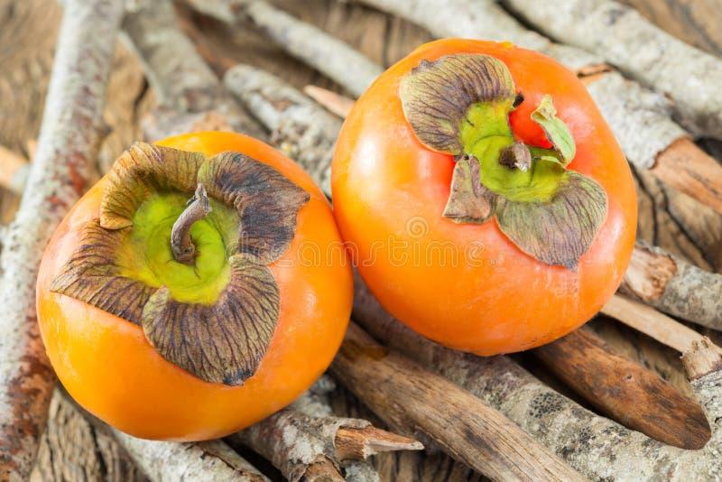 Плодоовощи Kaki стоковые фото