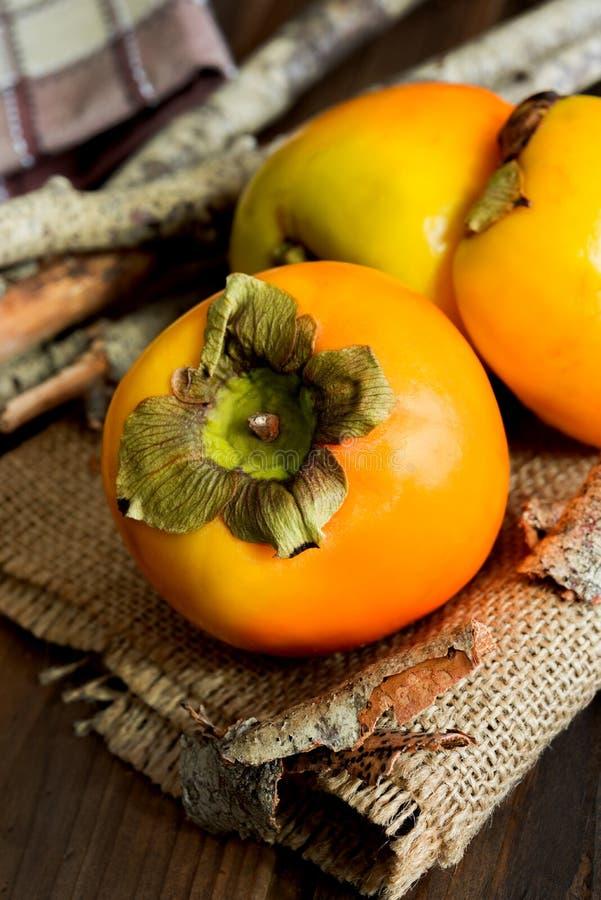 Плодоовощи Kaki стоковое фото