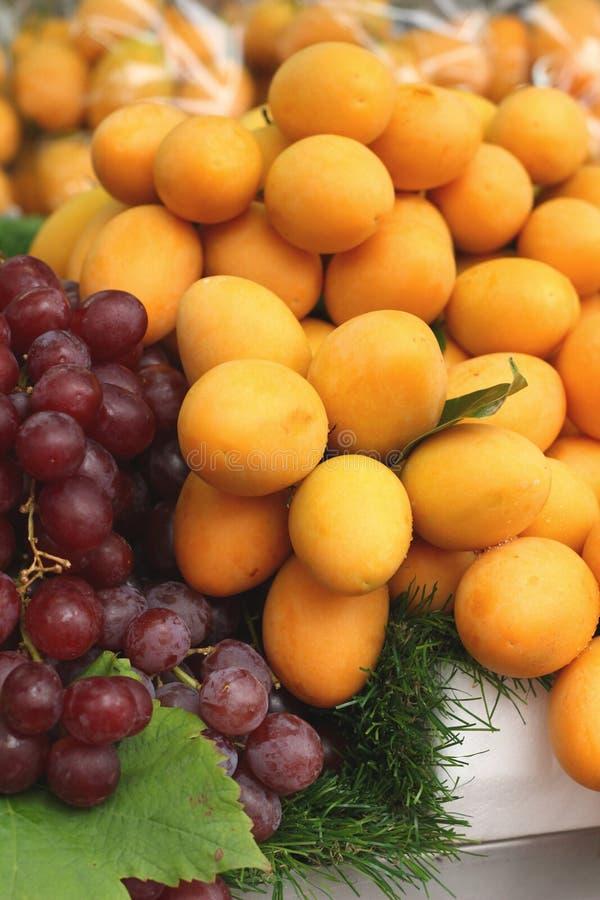 Плодоовощ сливы Мэриан - плодоовощ Азии стоковое изображение rf