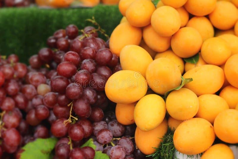 Плодоовощ сливы Мэриан - плодоовощ Азии стоковая фотография rf