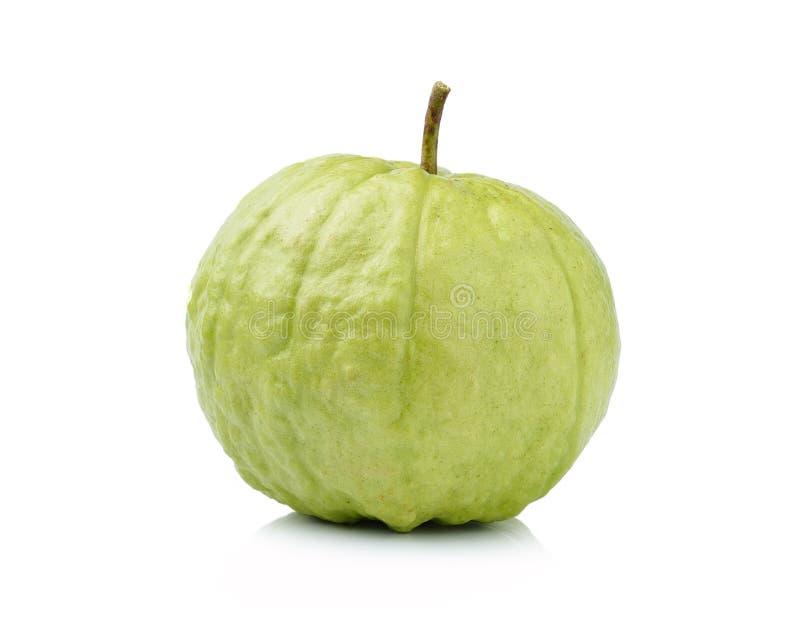 Плодоовощ Guava изолированный на белой предпосылке стоковые фотографии rf