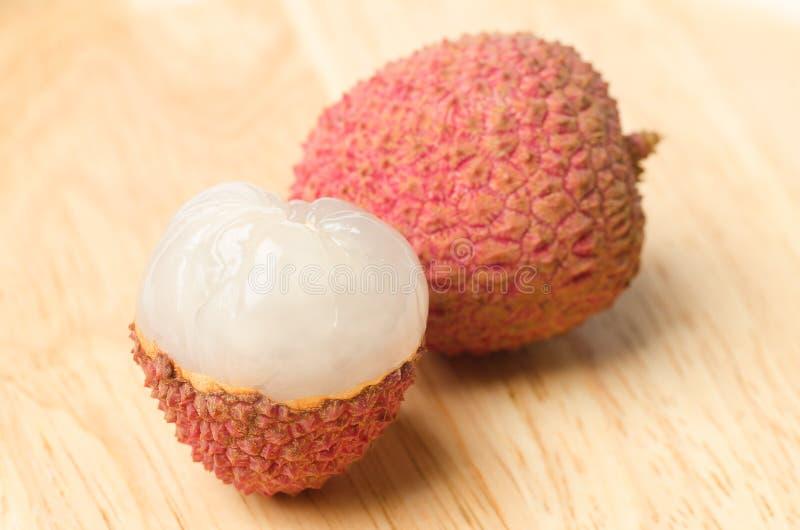 Плодоовощ Lychees стоковое изображение