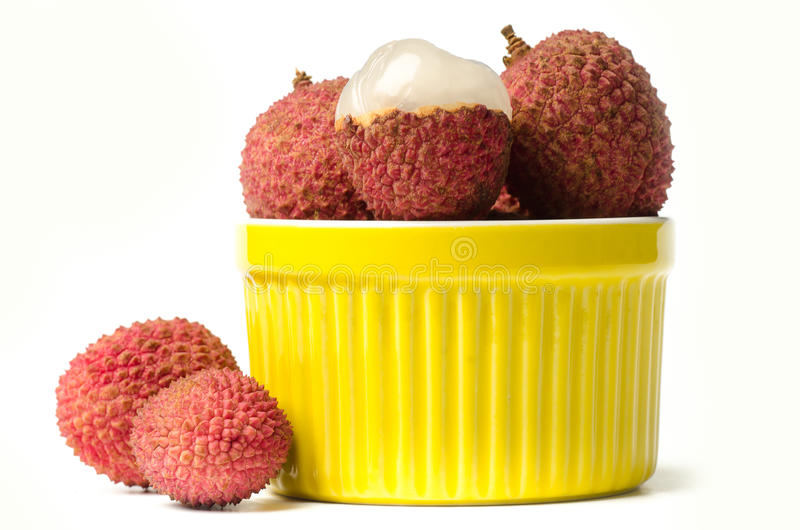 Плодоовощ Lychees стоковая фотография rf