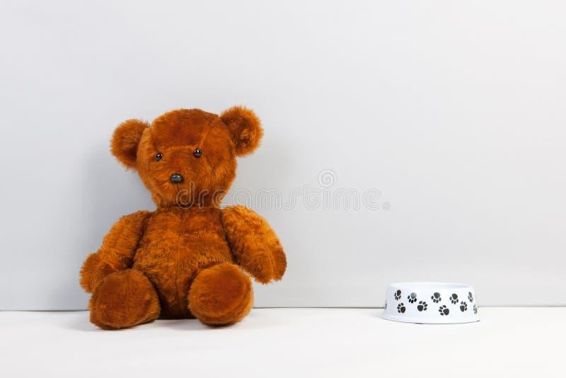 Плюшевый медвежонок Брайна стоковое фото rf